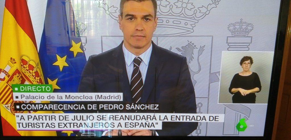 turistresor till spanien tillåts från och med juli