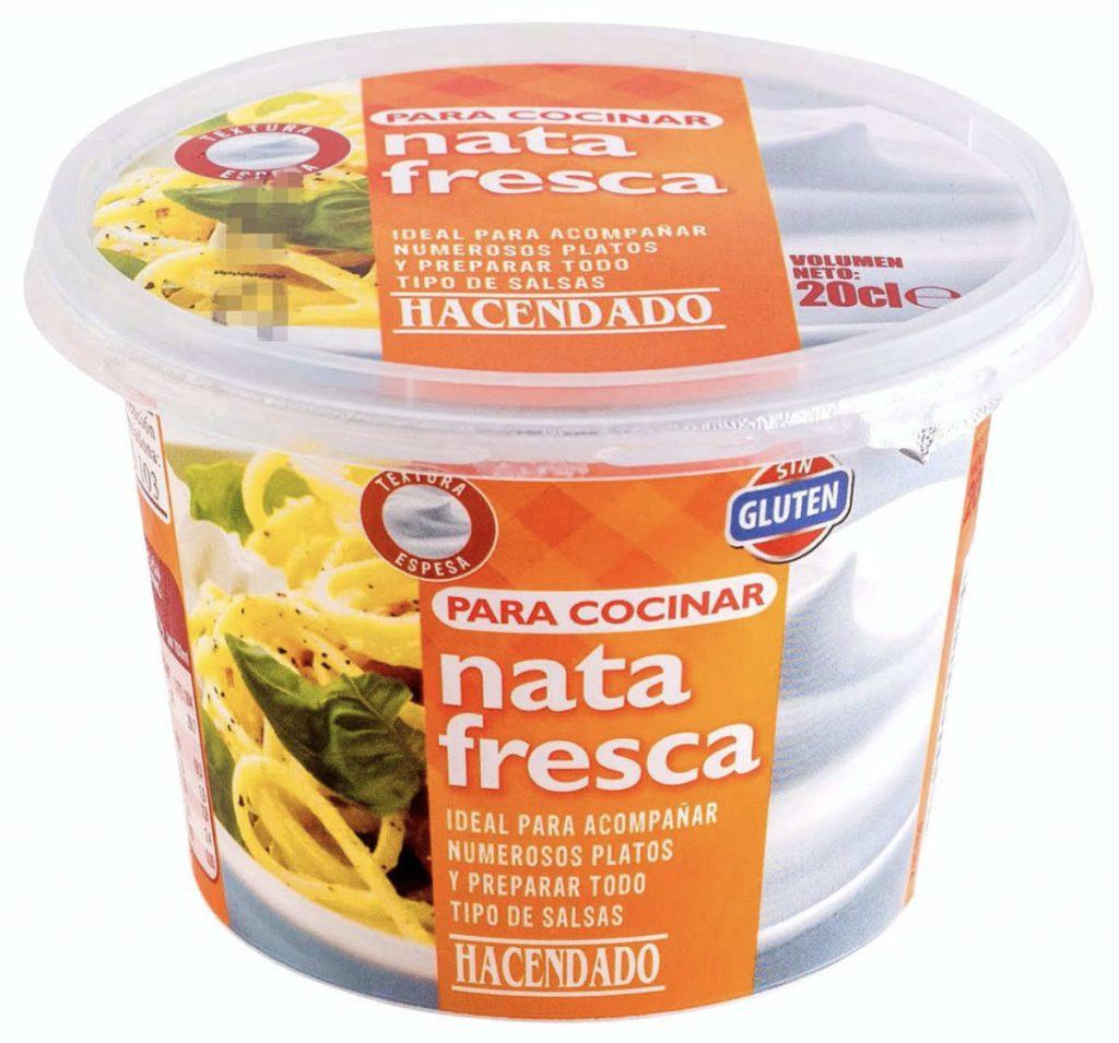 creme fraiche heter nata Fresca på spanska