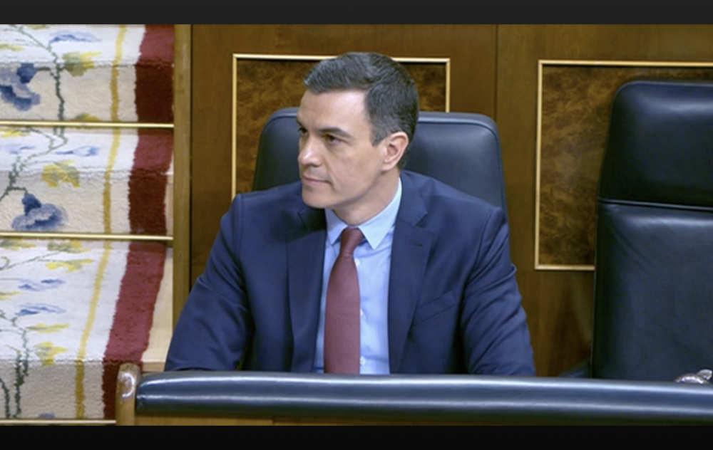 Regeringschef pedro Sanchez förlänger nödläget en sjätte gång